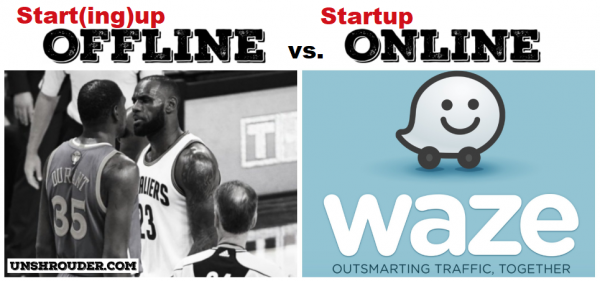 How the internet has changed the English language - start(ing)up offline vs startup online