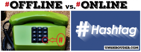 How the internet has changed the English language - # Online vs # Offline