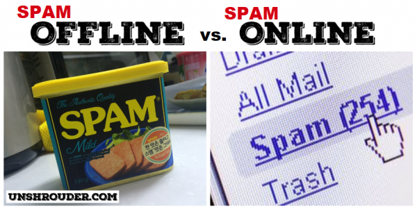 How the internet has changed the English language - spam