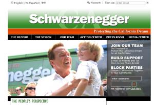 JoinArnold.com 2004 website screenshot