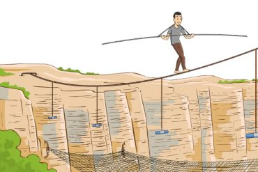 tightrope illustrated